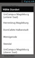 Screenshot of Mensa Magdeburg