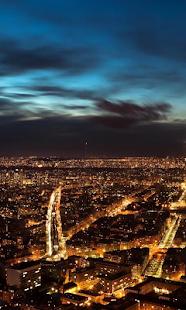 法國在夜間壁紙