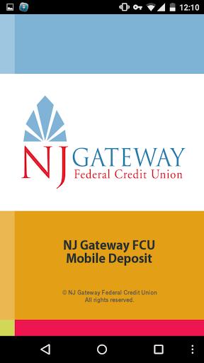 NJ Gateway FCU Mobile Deposit