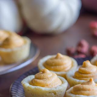 Easy Pumpkin Pie Tarts.