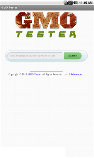 GMO Food Tester