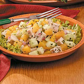Peach Chicken Salad.