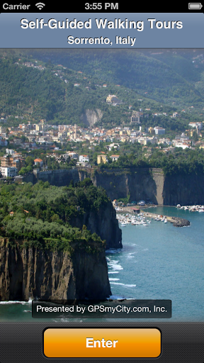 Sorrento Map and Walks