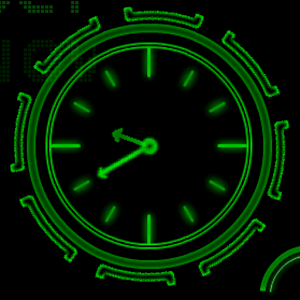 neon-clock-live-wallpaper