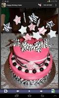 Screenshot of Happy Birthday Cake Designs