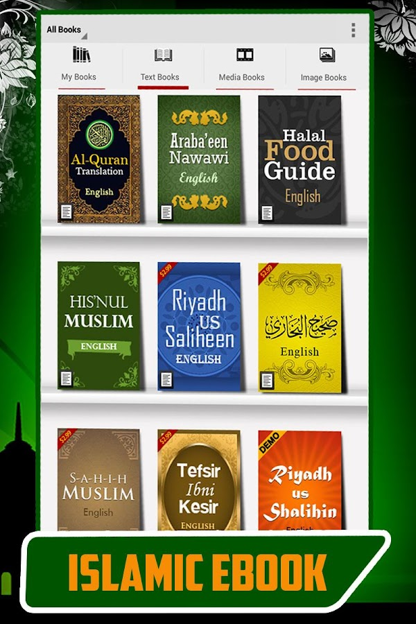 Islamic eBooks - Text & Media- screenshot