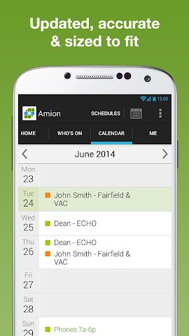 Screenshot 1 Amion - Physician Calendar