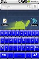 Screenshot of Better Keyboard Skin - Blue
