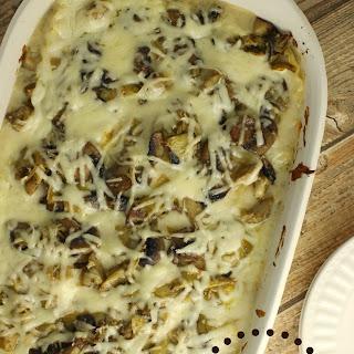 Mushroom Artichoke Lasagna