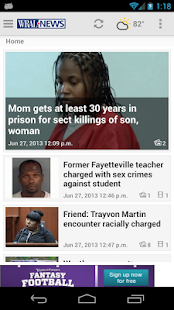 WRAL - screenshot thumbnail