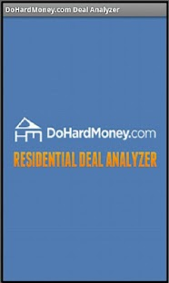 DHM Residential Deal Analyzer- screenshot thumbnail