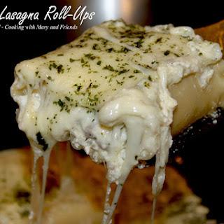 Alfredo Lasagna Roll-Ups
