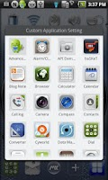Screenshot of MXHome Theme BlueWatch