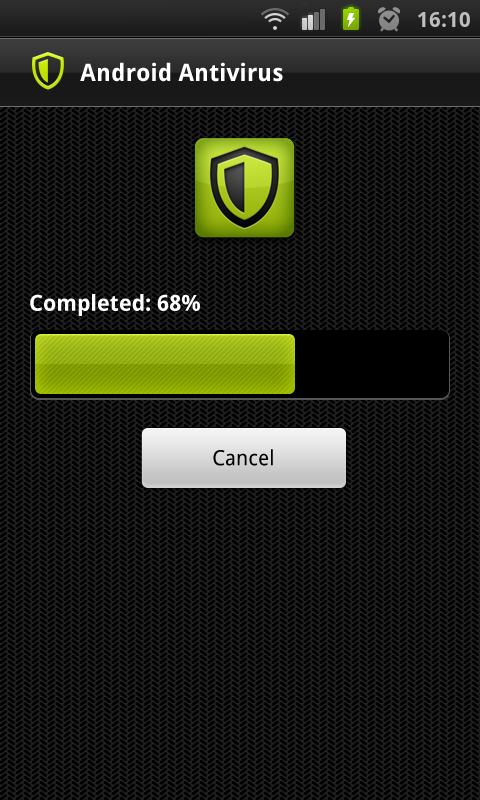 Antivirus for Android. Screenshot 1