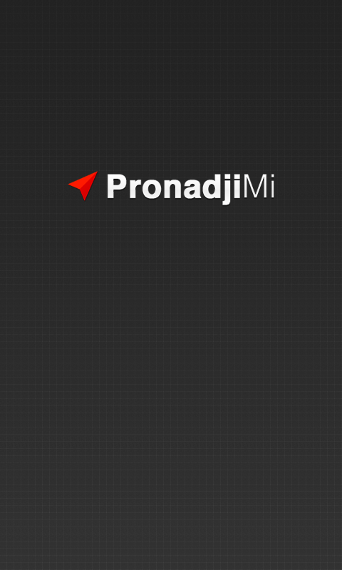 PronadjiMi - screenshot