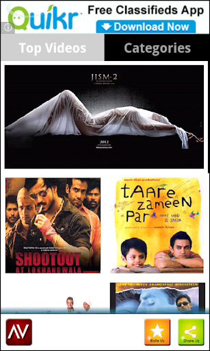 bollywood movies app for android free