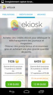 ekiosk mobile- screenshot thumbnail