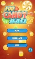 Screenshot of 100 Candy Balls 3D