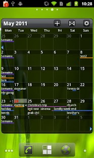 Pure Grid calendar widget- screenshot thumbnail