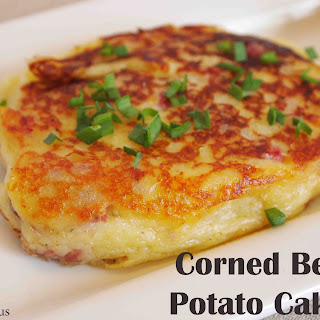 Corned Beef Irish Potato Cake