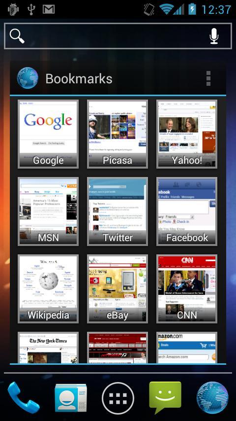 Виджеты для андроид - PDAlife ru