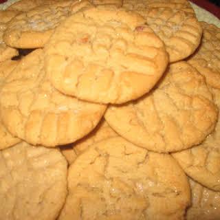Quick Peanut Butter Cookies.