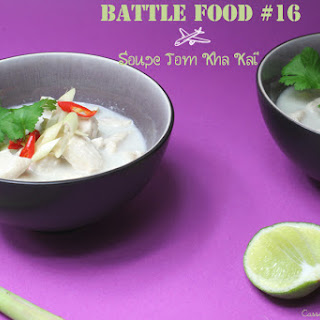 Chicken Soup With Cocont Milk.