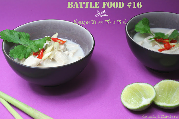 Chicken Soup with Cocont Milk Recipe