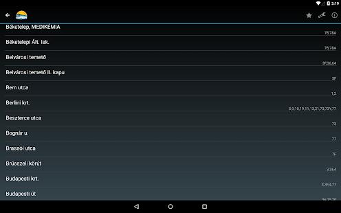 Szegedi Menetrend- screenshot thumbnail