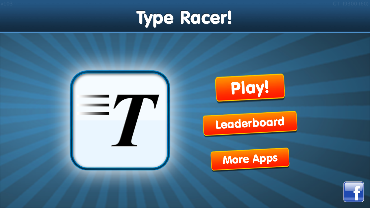 Type Racer - fast typing game!- screenshot