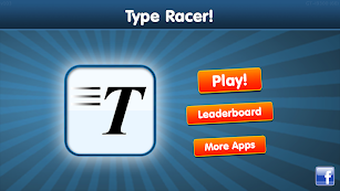 Type Racer - fast typing game! screenshot for Android
