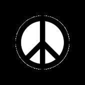 Peace Sign Sticker Widget