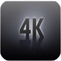 4K Ultra HD Video icon