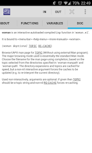 Emacs Documentation- screenshot thumbnail