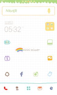 Mini Dodol launcher theme