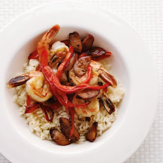 Sauteed Cajun Shrimp.