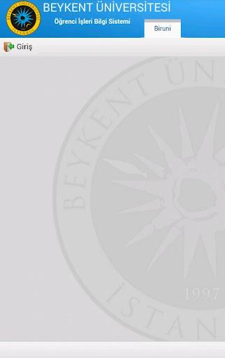 Beykent Universitesi Otomasyon