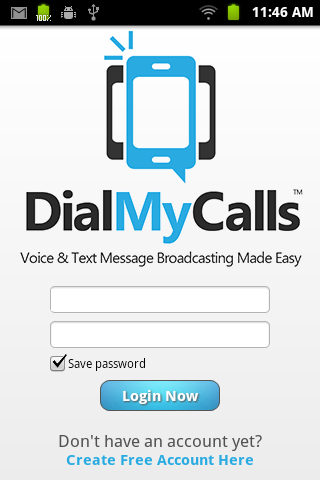 DialMyCalls Voice Broadcasting - screenshot