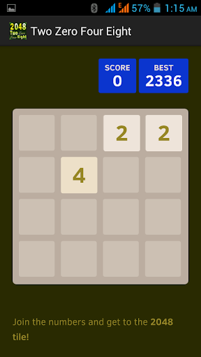 2048-Two Zero Four Eight