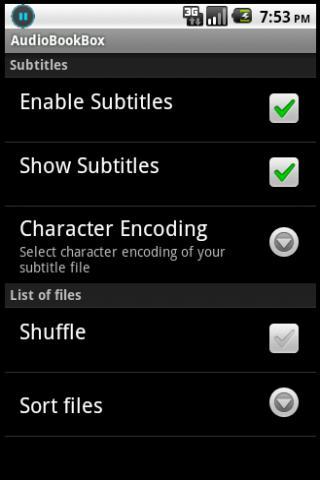 AudioBookBox- screenshot