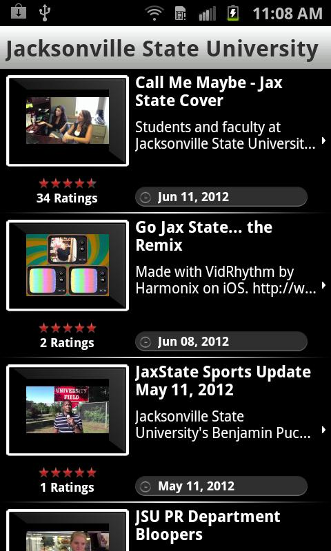 JSUMobile - screenshot