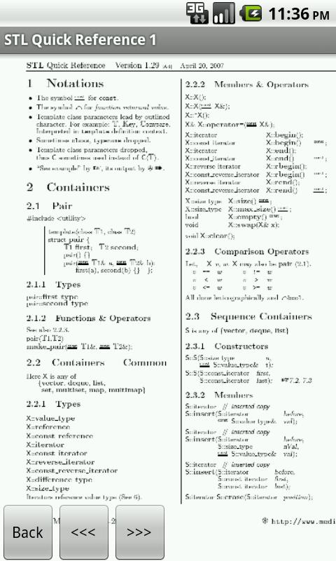 C++ Programming Reference FREE - screenshot