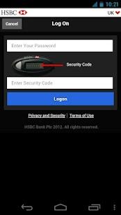 HSBC Business Banking - screenshot thumbnail