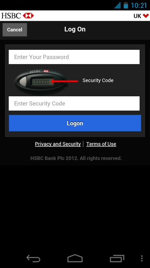 HSBC Business Banking - screenshot