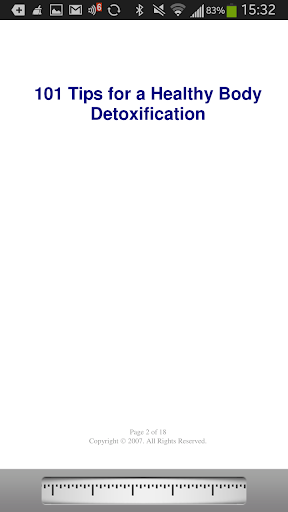 【免費健康App】101DetoxificationTips-APP點子