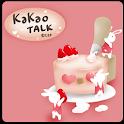 [Kakao talk theme] Cake Rabbit