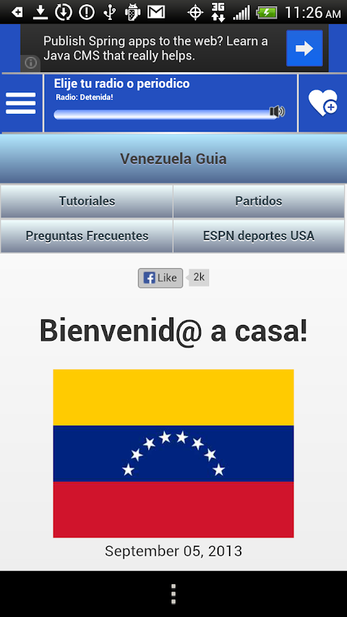 Venezuela Guide Radio n News- screenshot