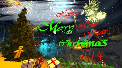 3D Christmas Card-Winter Dream