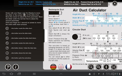 Air Duct Calculator screenshot 3