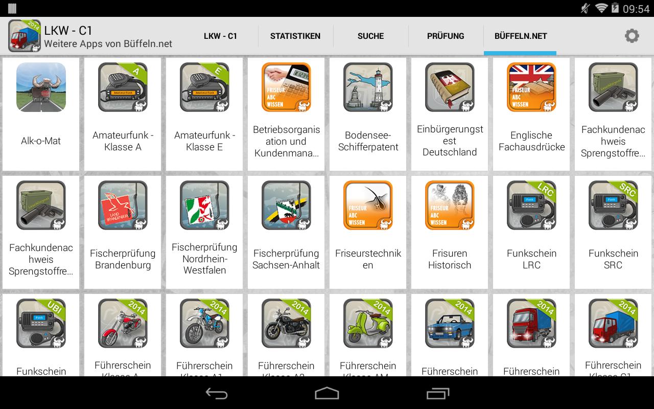 lkw f hrerschein klasse c1 android apps on google play. Black Bedroom Furniture Sets. Home Design Ideas